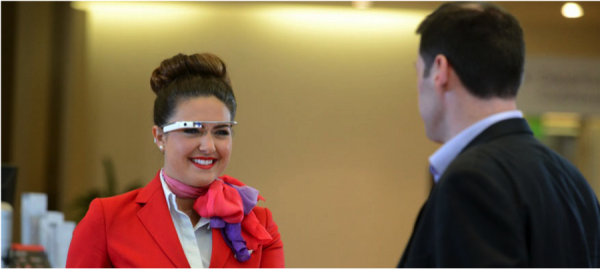 Virgin Atlantic and Google Glass