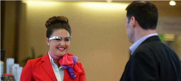 Virgin Atlantic and Google Glass