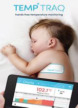 temptraq hands-free tempature monitor