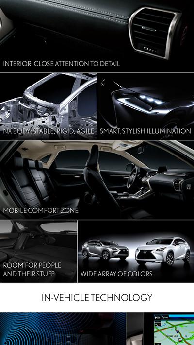 Lexus virtual reality app
